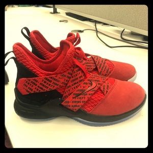 Boys Nike Lebron sneakers. Size 6Y.  Brand new